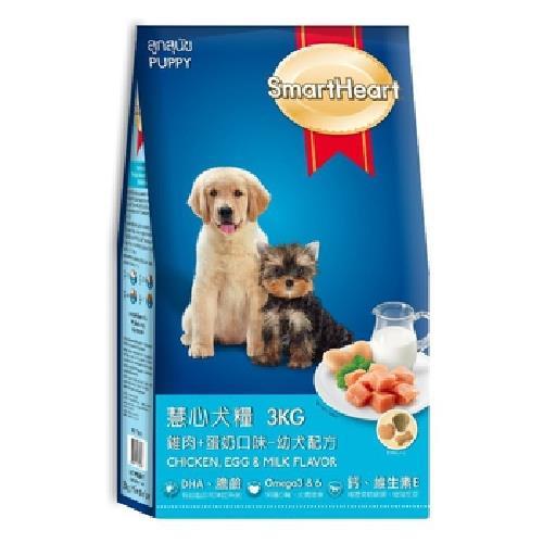 慧心 雞肉+蛋奶口味幼犬配方(3kg)