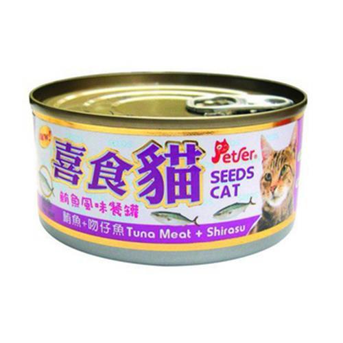 喜食貓 鮪魚風味餐罐(鮪魚+吻仔魚)(170g/罐)