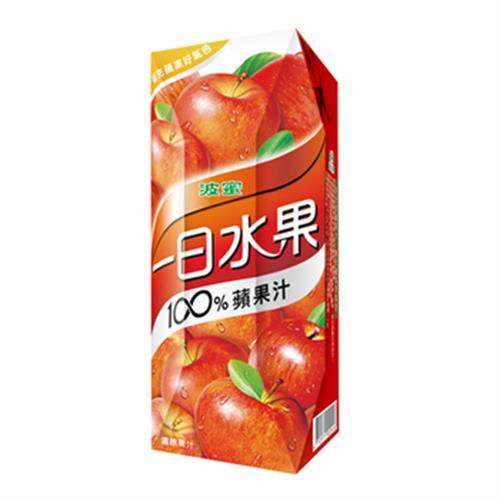 波蜜 一日水果100%蘋果汁(250ml*6包/組)