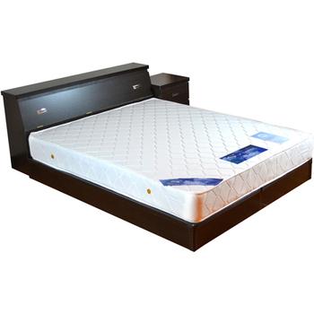 《時尚屋》安納貝爾5尺床箱型4件房間組(胡桃)