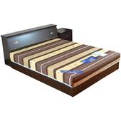 《時尚屋》克洛伊5尺床箱型4件房間組(胡桃)