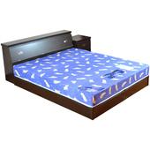 《時尚屋》安妮特5尺床箱型4件房間組(胡桃)