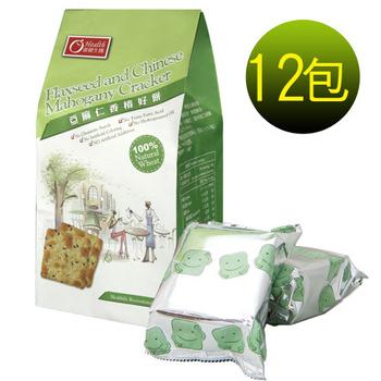 《康健生機》亞麻仁香椿好餅(180g/包)(X12包)