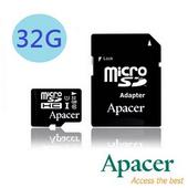 《Apacer 宇瞻》32GB UHS-I Class10 MicroSDHC記憶卡