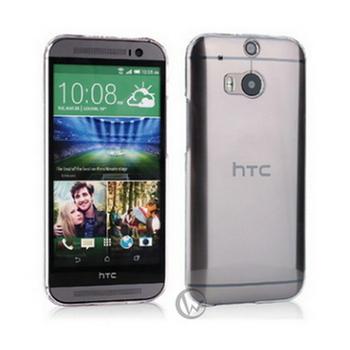 透明殼專家 HTC M8 0.5mm 超薄 抗刮 高透光保護殼(HTC M8)