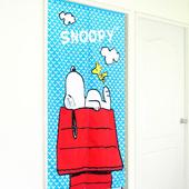 《布安於室》SNOOPY日式門簾-紅色小屋