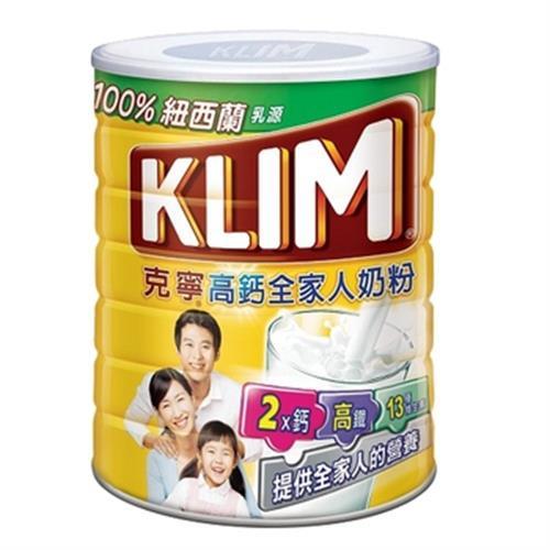 克寧 高鈣全家人奶粉(1.5kg/罐)