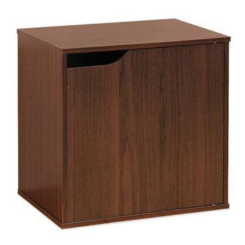 Hopma 單門櫃-八色可選(胡桃木色)