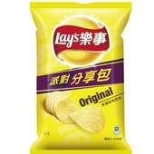 《Lay's樂事》美國經典原味派對分享包(150g/包)