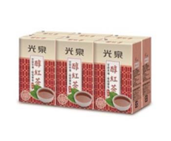 光泉 醇紅茶(微甜)(250ml*6包/組)