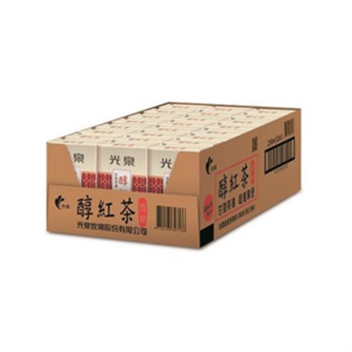 光泉 醇紅茶(微甜)(250ml*24包/箱)