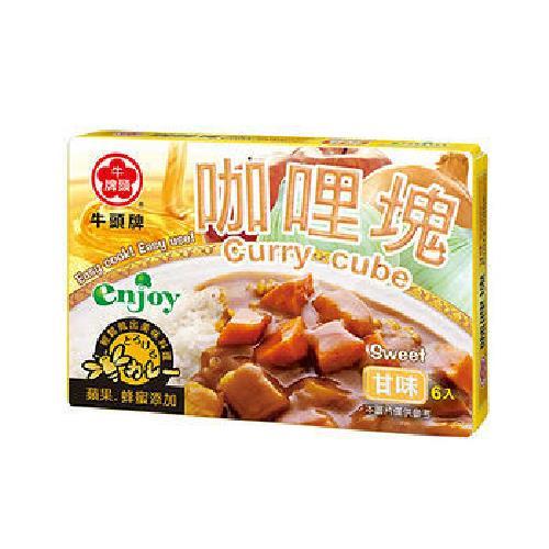 牛頭牌 甘味咖哩塊(66g/盒)