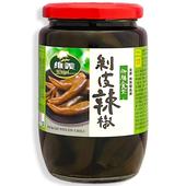 《御膳食堂》剝皮辣椒(380g/瓶)