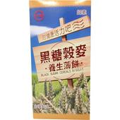 《台糖》黑糖穀麥養生薄餅(180g/盒)