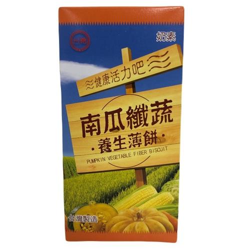 《台糖》南瓜纖蔬養生薄餅(180g/盒)