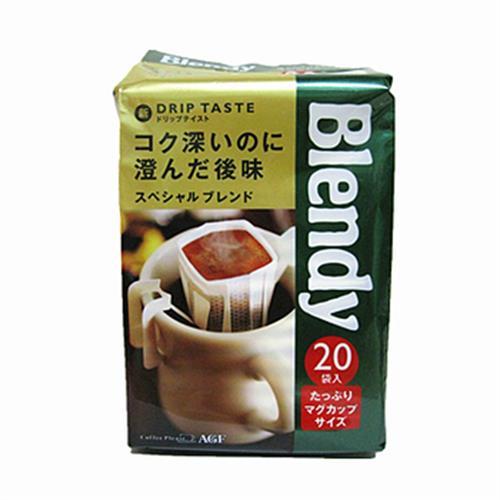 AGF Blendy焙煎濾式咖啡-特級(20入/盒)