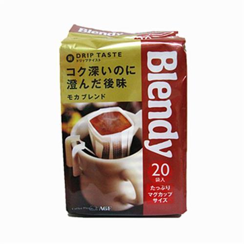 AGF Blendy焙煎濾式咖啡-摩卡(20入/盒)