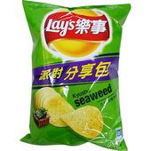 《Lay's樂事》九州岩燒海苔派對分享包(150g/包)