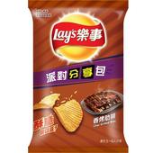 《Lay's樂事》波樂香烤肋排派對分享包(151g/包)