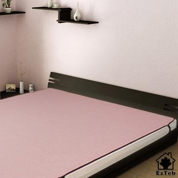 《輕鬆睡-EzTek》涼感!和風紙纖蓆-雙人加大(粉紅色)