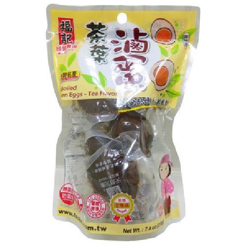 福記 茶葉滷蛋(雞蛋)(6顆/包)