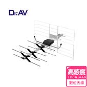 《Dr.AV》DX-5A 矩陣式 數位電視天線 (弱訊號區專用)