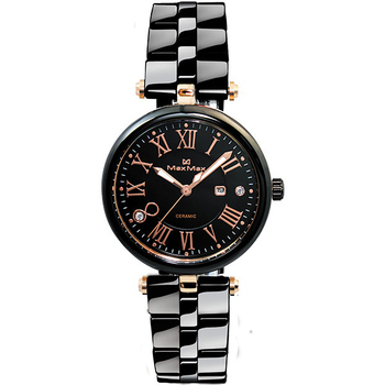 Max Max 羅馬時尚黑爵限量腕錶 MAS5129-1(MAS5129-1)