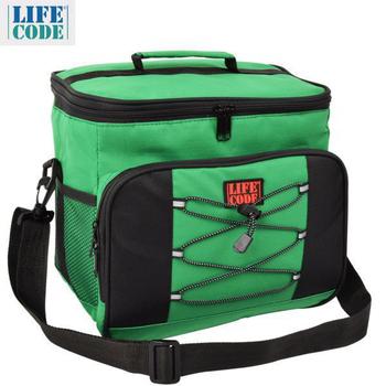 ★結帳現折★LIFECODE 歐風保冰袋/保溫袋 /保冷袋 (15L) -藏青色/綠色(綠色)