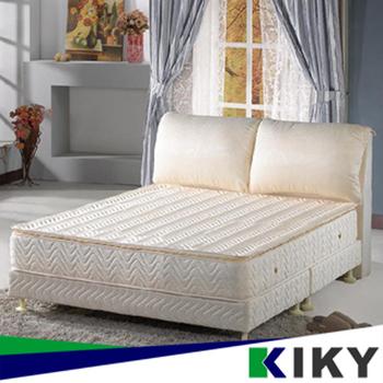 KIKY 三代法式維納斯天然乳膠獨立筒單人加大床墊3.5尺-YY