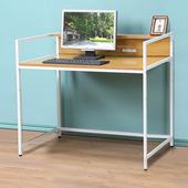 《C&B》歐斯庭三尺升降電腦工作書桌(淺木紋色)