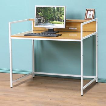 C&B 歐斯庭三尺升降電腦工作書桌(淺木紋色)