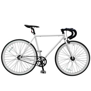 BIKEONE V2 PLUS Fixed Gear單速車 英式時尚不敗經典款(白色)