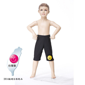Bich Loan 兒童學習七分泳褲附泳帽加贈刷樂杯13003101(M)