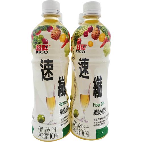 紅牌 速纖飲料(495ml*4瓶/組)