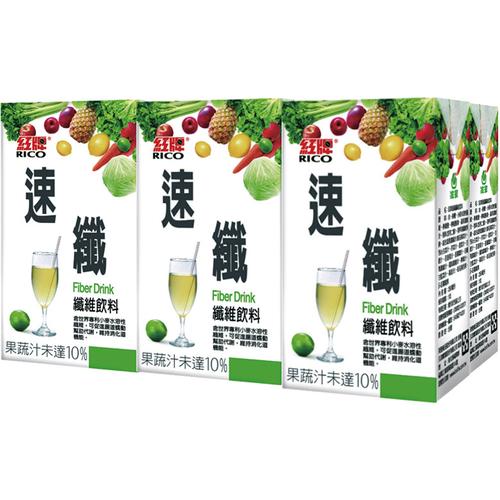 紅牌 速纖飲料(250ml*6包/組)