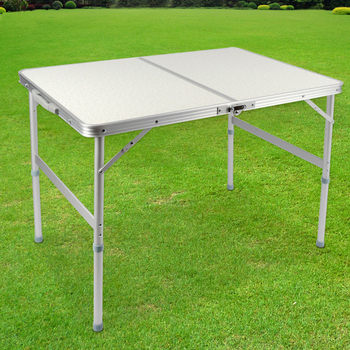 ★結帳現折★LIFECODE 009長90cm鋁合金折疊桌(提箱型)
