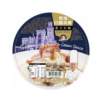 金品 奶油白醬培根義大利麵(350g/盒)