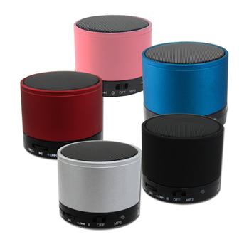 藍芽圓舞曲 藍芽喇叭/音箱 免持通話 插卡式 無線播放(粉)