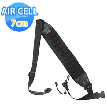 《AIR CELL》AIR CELL-07 韓國7cm顆粒舒壓腳架背帶(神秘黑)