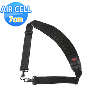 《AIR CELL》AIR CELL-06 韓國7cm雙鉤弧型相機背帶(神秘黑)