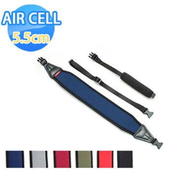 《AIR CELL》AIR CELL-03 韓國5.5cm顆粒相機背帶(神秘黑)