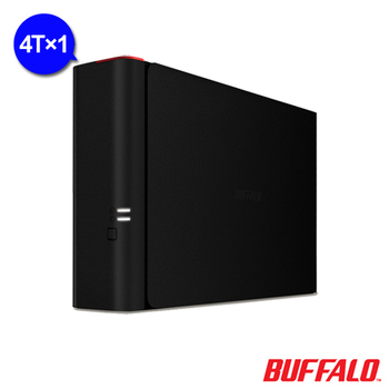 BUFFALO NAS 1bay 4TB 雲端硬碟 (LS410D0401)(4T)