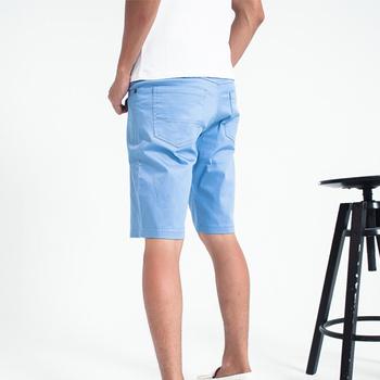MAKER NET 經典韓版素色短褲-二色(藍32)