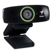 《Genius》FaceCam 2020 輕巧型HD視訊攝影機(黑色)