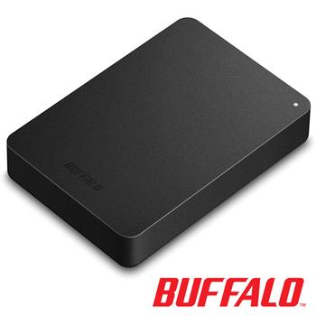 BUFFALO PNF系列2.5吋 2T硬體加密行動硬碟
