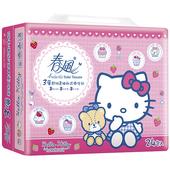 《春風》美式Kitty三層抽取式衛生紙(100抽*24包/串)