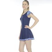《Bich Loan》慧麗連身裙泳裝附泳帽加贈白人旅遊組13006103(M)下單即贈襪子2雙,同訂單滿800再送冰涼巾