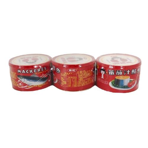 東和 好媽媽蕃茄汁鯖魚(紅易)(225g*3罐/組)