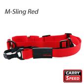 《CARRY SPEED 速必達》M-Sling Red 單雙肩兩用背帶(艷麗紅)