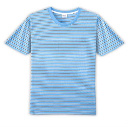 HENIS 條紋吸汗速乾短袖(XL/件)